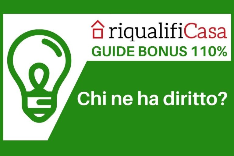 Chi può usufruire di Ecobonus 110% per ristrutturare riqualificare la casa
